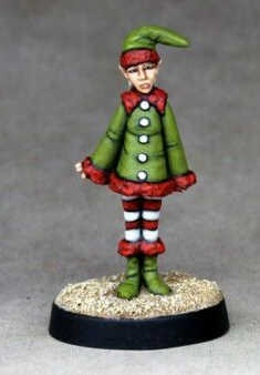 Santas little helper.  Limited 200 castings