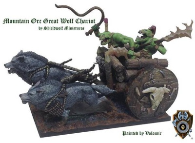Mountain Orc Great Wolf Chariot (1)