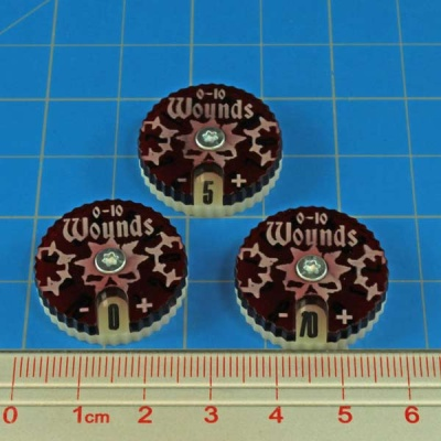 Wound Dials Numbered 0-10 (3)