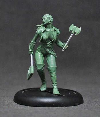 """Female Human Ranger """"1st mate Shakeera Abbott"""""""