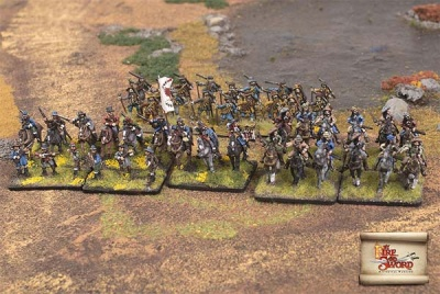 Prussian Territorial Defense Skirmish Set