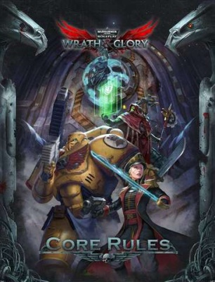WH40K Wrath & Glory Core Rulebook HC (ENG)