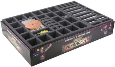 Schaumstoff-Set für Necromunda: Underhive Brettspielbox