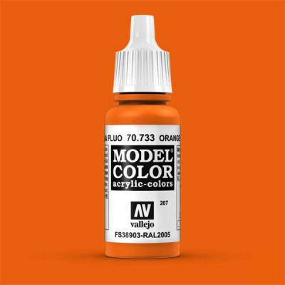 Model Color 207 Leuchtorange (Orange Fluo) (733)