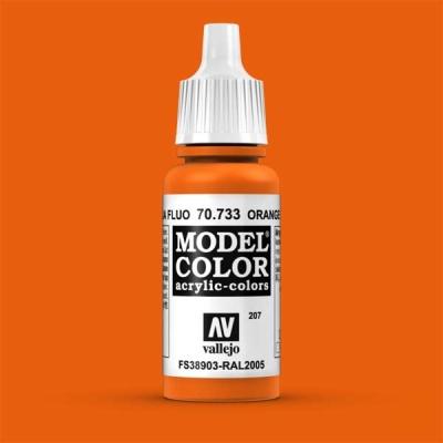 Model Color 207 Leuchtorange (Orange Fluo) (733)