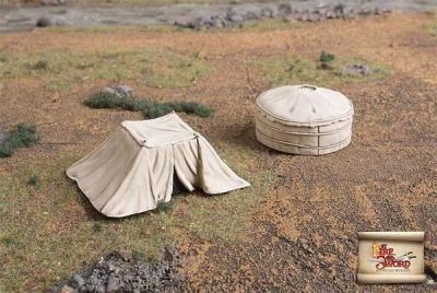 Tatar/Cossack officer tents