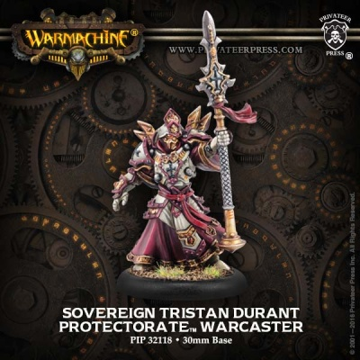 Protectorate Warcaster Sovereign Tristan Durant
