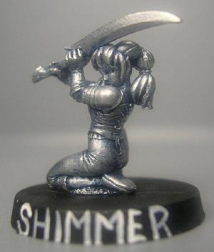 Shimmer, Elfen Kriegerin