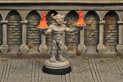 Demon Statue, inanimate v2