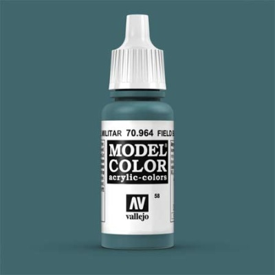 Model Color 058 Graublau hell (Field Blue) (964)