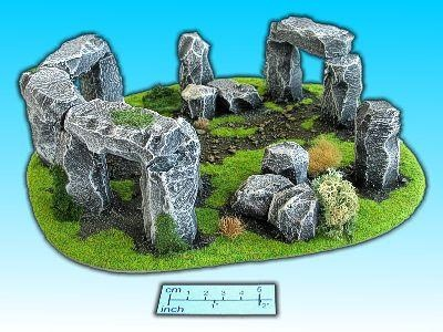 Geländestück Stonehenge