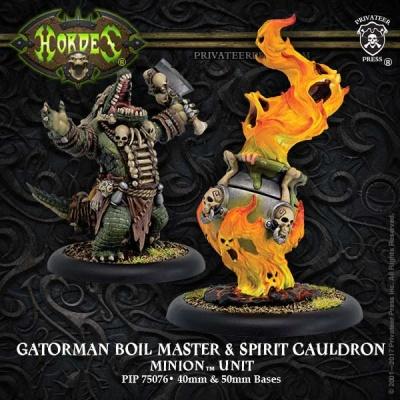 Minion Gatorman Boil Master & Spirit