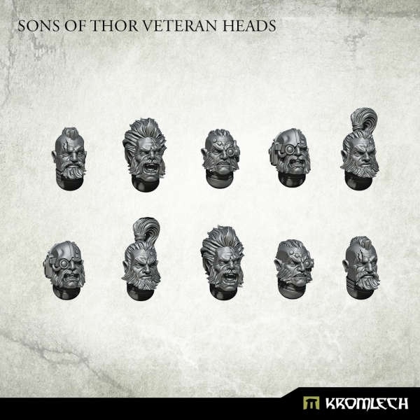 Sons of Thor Veteran Heads (10)
