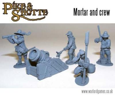 Pike and Shotte Mortar