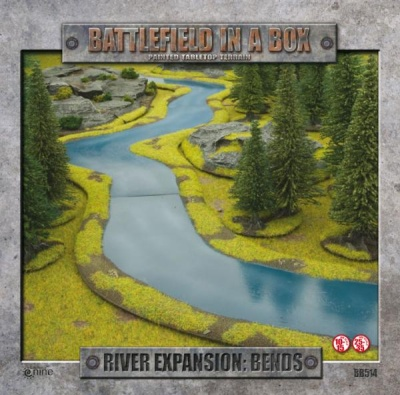 River Expansion - Bends (3 pcs)