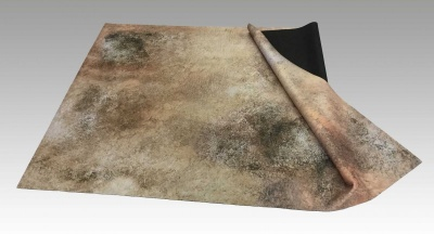 Dust 4' x 6' Desert Gaming Mat with Bag