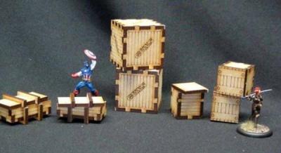 Gun & Ammo Crates