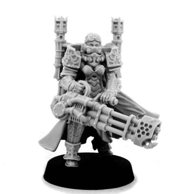 Emperor Sister with Heavy Flamer