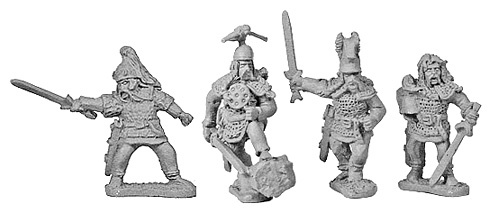 Gallic Nobles with Shields