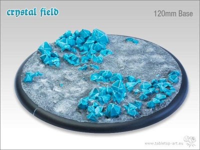 Crystal Field Base, 120mm Relief