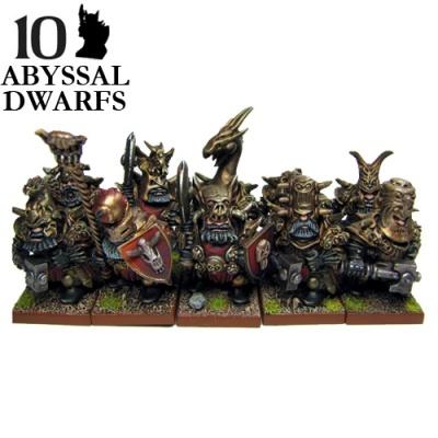 Abyssal Dwarf  Immortal Guard (10)
