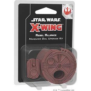 Star Wars: X-Wing 2.Ed. Rebel Maneuver Dial Upgrade Kit