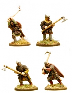 Anglo-Danish Huscarls (axes) (Hearthguard)