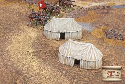 Eastern style military tents big (BOX)