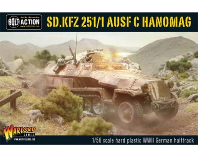 Sd.Kfz 251/1 ausf C halftrack (Plastic)