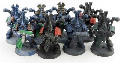 WH40K: Thousand Sons Marines (8)