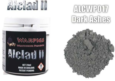 Alclad II PIGMENT: Dark Ashes