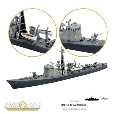 Cruel Seas: IJN No 13 Subchaser