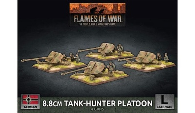 8.8cm Tank-Hunter Platton (x4 Plastic)