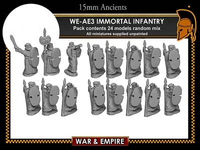 Early Persian, Immortal Infantry
