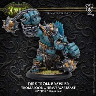 Trollblood Dire Troll Brawler Northkin Heavy Warbeast