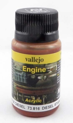 Vallejo Weathering Effects Engine Effect Diesel Stains 40 ml