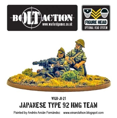 Japanese Type 92 HMG Team