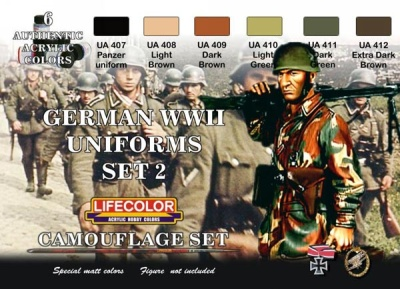 German uniforms Set II WWII