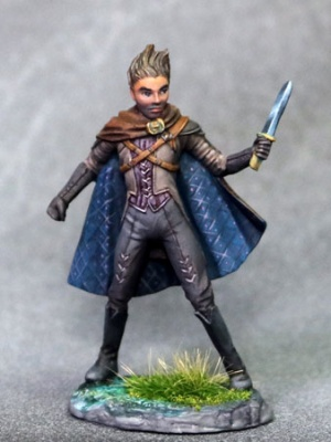 Male Rogue with Dagger