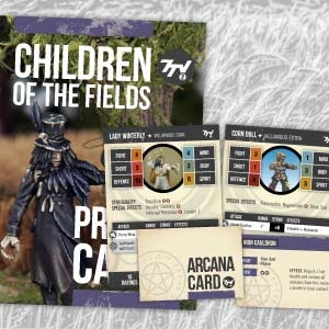 Profile Cards 7TV2: Children of the Fields