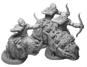 Orc Necrodon Bowmen
