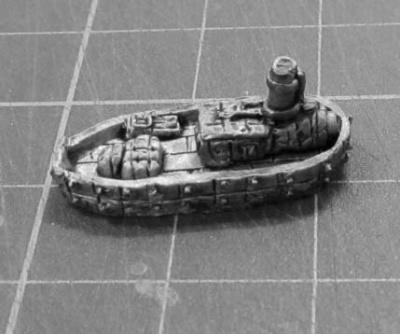 Dwarven Barge 'Turtle'