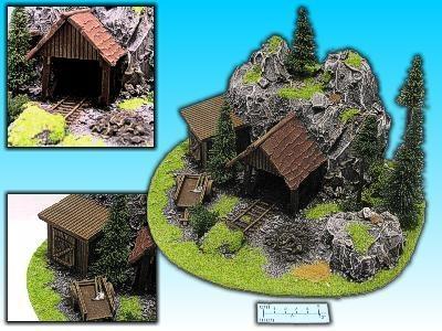 Geländestück Zwergenmine