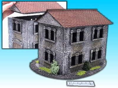 Geländestück Haus II
