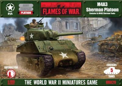 M4A3 Sherman Platoon (5)