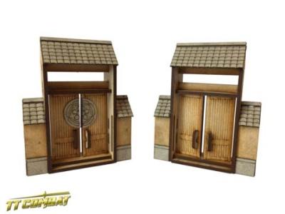 Yagura Wall Small Gates (2)