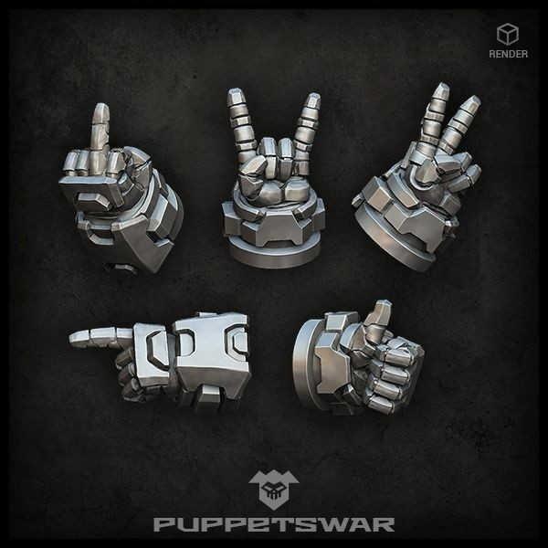 Hand Gestures (left) (5)