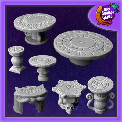 Runic Tables and Altars
