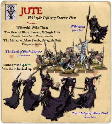 Jute Wihtgar Infantry Starter Host
