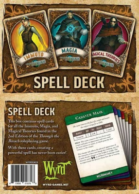 Through The Breach RPG: Spell Deck